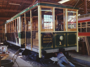 Trolley #1 In Repair
